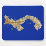 Mapa Mousepad de Panamá