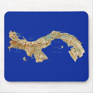 Mapa Mousepad de Panamá Alfombrillas De Ratones