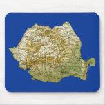 Mapa Mousepad de Rumania Alfombrilla De Ratones