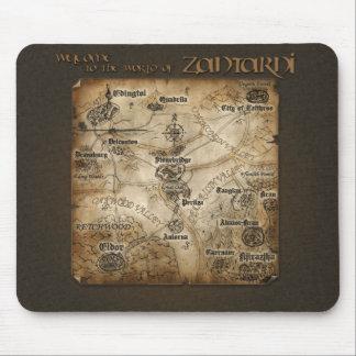 Mapa Mousepad de Zantarni Alfombrillas De Ratón