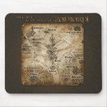 Mapa Mousepad de Zantarni Tapete De Ratones