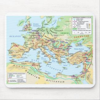 Mapa Mousepad del imperio romano Alfombrilla De Ratones