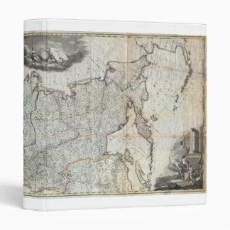 """Mapa mural 1787 del imperio ruso carpeta 1"""""""