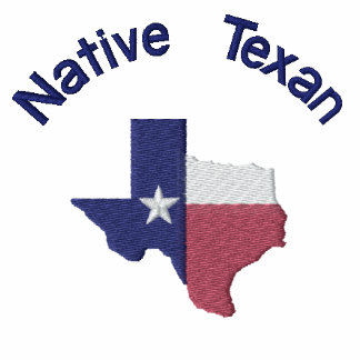 Mapa nativo de la bandera del Texan
