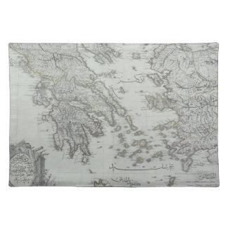 Mapa náutico mantel