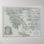 Mapa náutico posters