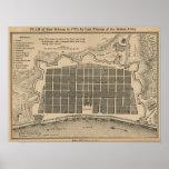 Mapa New Orleans 1770 Impresiones