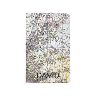 Mapa: New York-area, 1906 Cuadernos Grapados