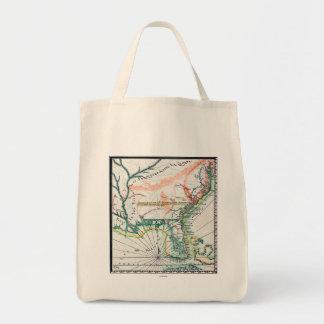 Mapa: Norteamérica, 1742