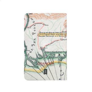 Mapa: Norteamérica, 1742 Cuadernos