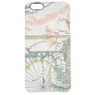Mapa: Norteamérica, 1742 Funda Clearly™ Deflector Para iPhone 6 Plus De Unc