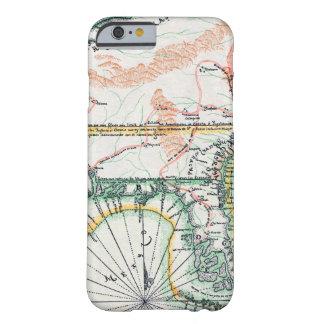 Mapa: Norteamérica, 1742 Funda De iPhone 6 Barely There