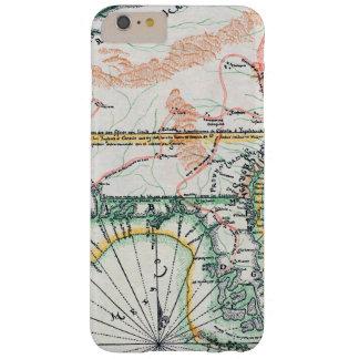 Mapa: Norteamérica, 1742 Funda Para iPhone 6 Plus Barely There