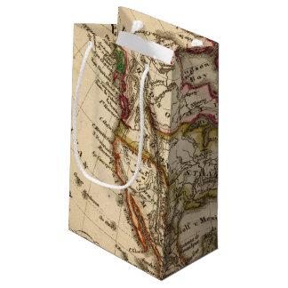 Mapa norteamericano 2 bolsa de regalo pequeña