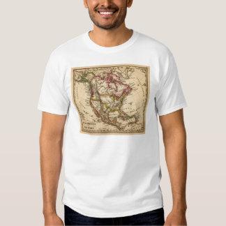 Mapa norteamericano 2 camisas