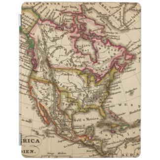 Mapa norteamericano 2 cubierta de iPad