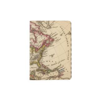 Mapa norteamericano 2 porta pasaporte