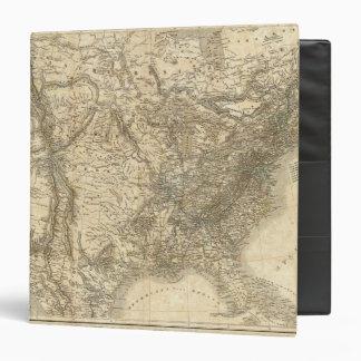 "Mapa norteamericano carpeta 1 1/2"""