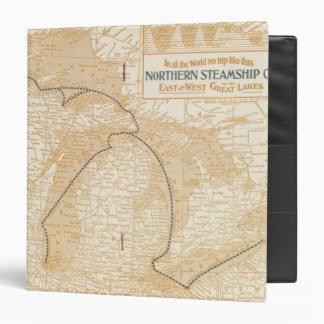 Mapa Northern Steamship Company