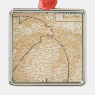 Mapa Northern Steamship Company Ornamentos De Reyes Magos