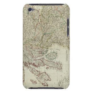 Mapa nuevo y correcto de Escocia iPod Touch Cárcasas