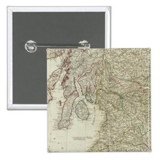 Mapa nuevo y correcto de Escocia Pins