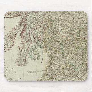 Mapa nuevo y correcto de Escocia Tapete De Ratones