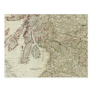 Mapa nuevo y correcto de Escocia Postal