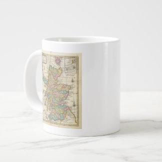 Mapa nuevo y correcto de Escocia y de las islas Taza De Café Gigante