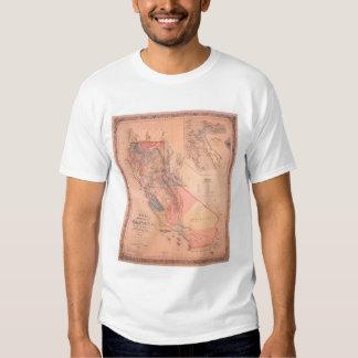 Mapa oficial de California Poleras