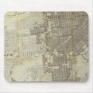 Mapa oficial de la ciudad de San Francisco de Banc Mouse Pad