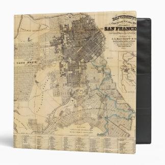 "Mapa oficial de la guía de Bancroft de San Carpeta 1 1/2"""