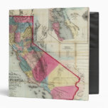"Mapa oficial del estado de California Carpeta 1 1/2"""