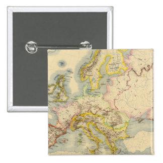Mapa orográfico de Europa Pin