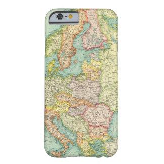 Mapa político de Europa Funda Barely There iPhone 6