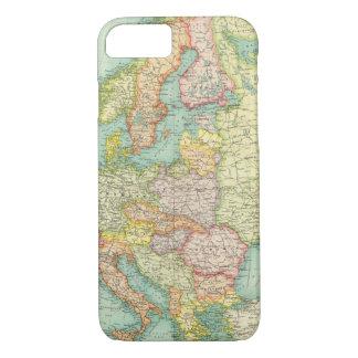 Mapa político de Europa Funda iPhone 7