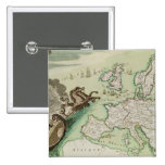 Mapa que ilustra el ataque naval contra Inglaterra Pins