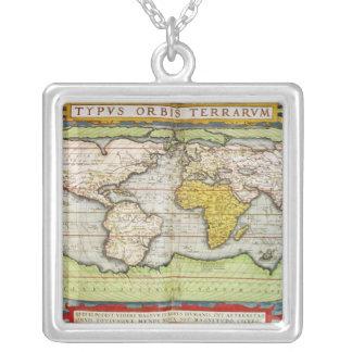Mapa que traza a sir Francis Drake Collares