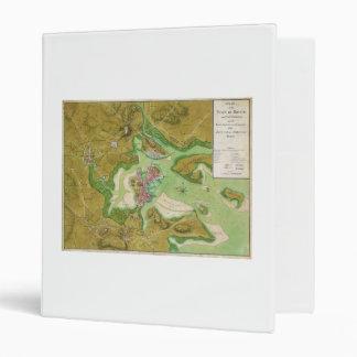 """Mapa revolucionario de la guerra de Boston Carpeta 1"""""""
