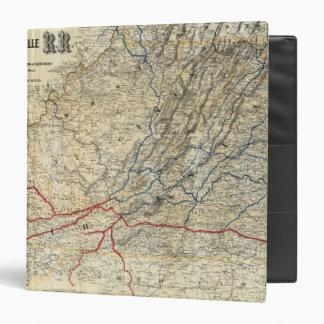 Mapa Richmond y Louisville RR