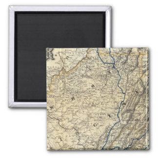 Mapa Richmond y Louisville RR Iman Para Frigorífico