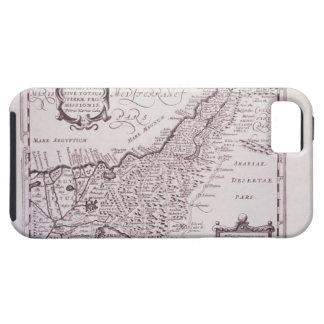 Mapa sagrado de Palestina, la tierra prometida iPhone 5 Carcasas