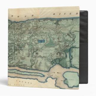 "Mapa sanitario y topográfico de New York City Carpeta 1 1/2"""