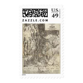 Mapa seccional del oeste nuevo y topográfico de sellos
