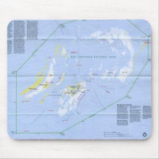 Mapa seco de Tortugas Tapetes De Ratones