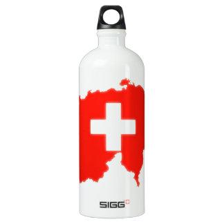Mapa suizo de la bandera