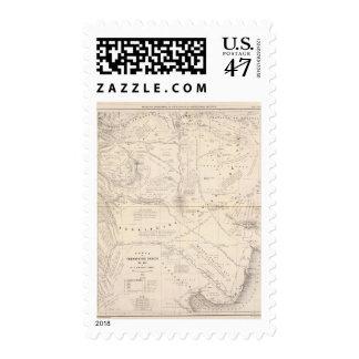 Mapa, territorio indio al sur de la región de sello