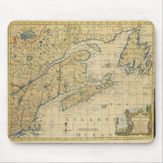 Mapa Thomas Kitchin de Nueva Inglaterra 1758 y de  Tapete De Ratones