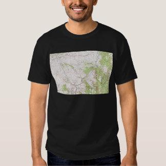 Mapa topográfico camisas