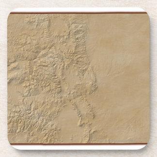 Mapa topográfico de Colorado 2 Posavaso
